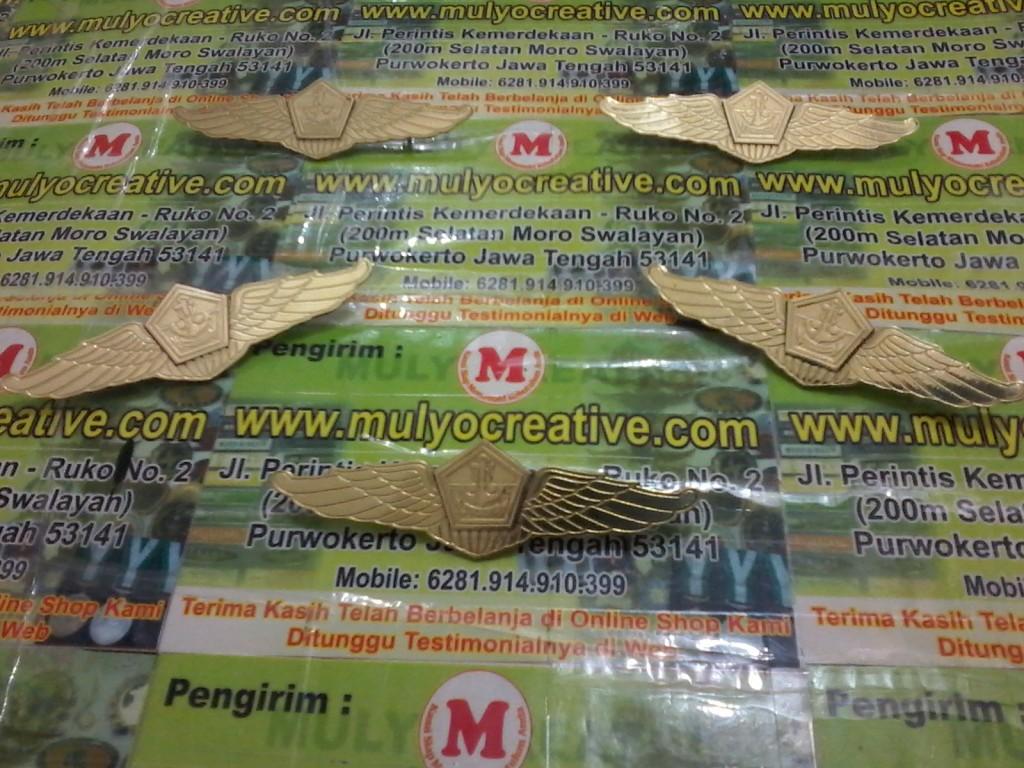 Wing Lencana Saka Bahari mulyocreative