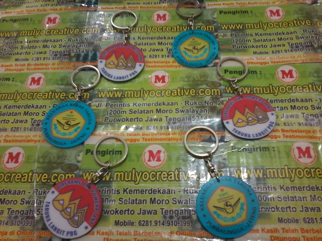 Gantungan Kunci Akrilik Logo Taruna mulyocreative