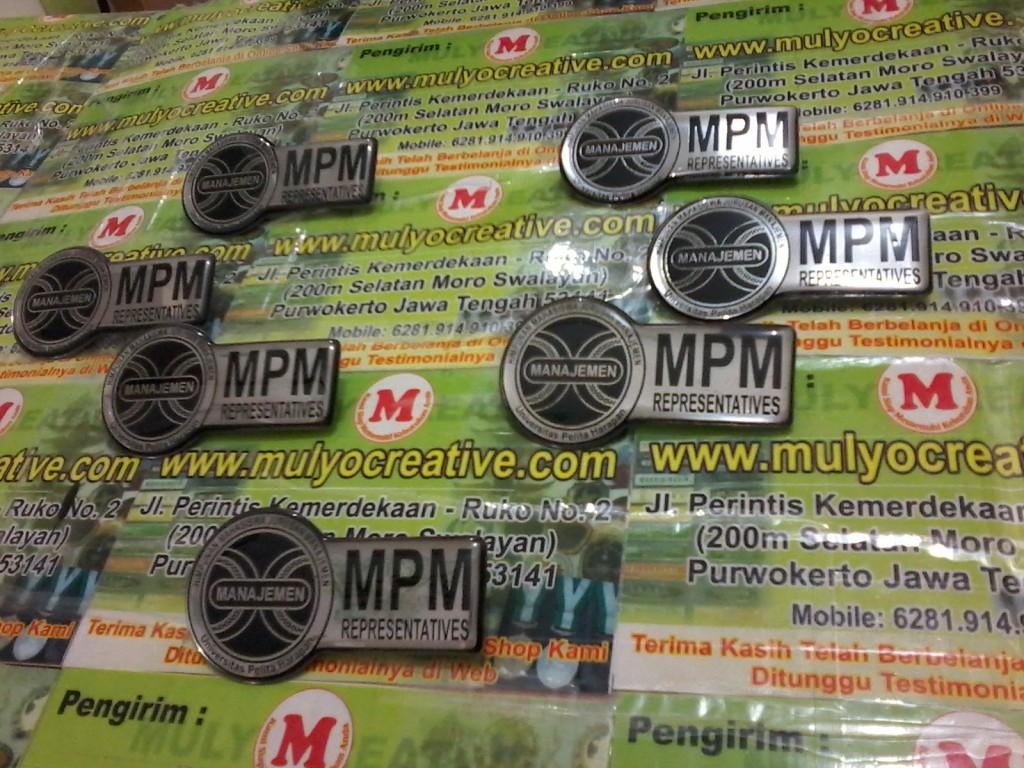 Pin Lencana Logam UPH Manajemen mulyocreative