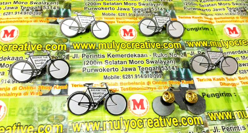 Pin Logo Basikal Tua Malaysia