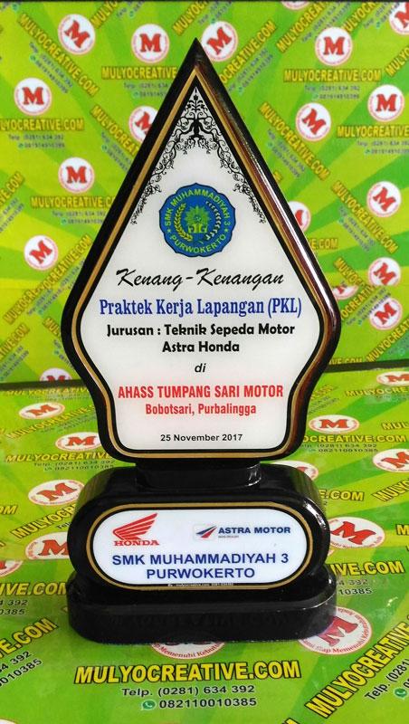 Contoh Plakat Kayu/ Vandel Kayu untuk PKL