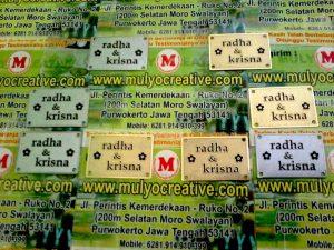 Label Tulisan untuk Mahar Pernikahan