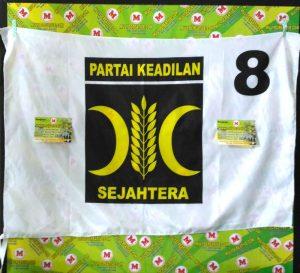 Partai PKS, Pesan bendera partai sablon harga murah