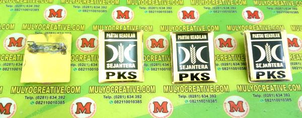 Pin PKS, Lencana Pin PKS, Orede dan Pesang sekarang juga di Mulyo Creative