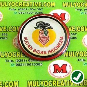 Pin Ikatan Bidan Indonesia Logo Ikatan Ibidan Indonesia Bros Lencana Emblem Jual Buat Tempah