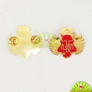 Jual Lencana Pin Logo Kesultanan Yogya Dari Bahan Logam Kuningan